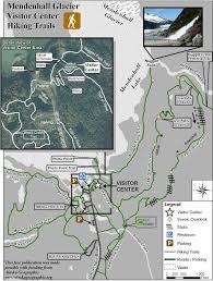 Juno Alaska Map by East Glacier Loop Mendenhall Glacier