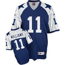 reebok dallas cowboys 41 terence newman blue thanksgiving jersey