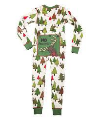 lazy one cream u0026 green no peeking flapjack pajamas toddler