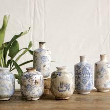 Blue And White Vase Lark Manor Bud Terra Cotta 3 Piece Table Vase Set U0026 Reviews Wayfair