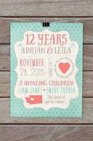 12 year anniversary gift for 12th anniversary traditional gift ideas and more anniversaries