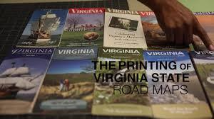 Virginia Map Virginia State Map Virginia State Road Map by The Making Of Virginia State Road Maps Youtube