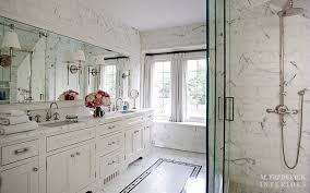 Master Bathroom Mirrors by Sconces Mounted On Bathroom Mirror Design Ideas