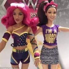 mattel wwe launch female wrestler fashion dolls daily
