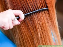 sollutions to dry limp hair how to turn dry hair to healthy hair with pictures wikihow