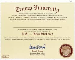 mad exclusive trump university u0027s diploma revealed mad magazine