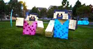 Minecraft Costume Halloween Maydae Minecraft U0026 Brave Halloween Costumes