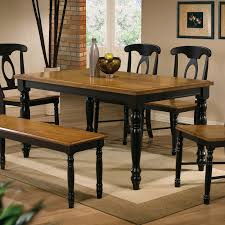 winners only quails run 84 in trestle dining table with 18 in