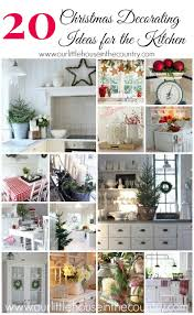 20 christmas decorating ideas for the kitchen our little house
