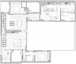 Paris Apartment Floor Plans Steel Structure Provides Storage At Apartment By Cut Architectures