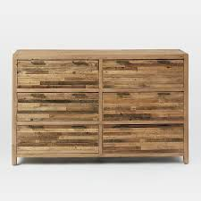 reclaimed pine bedroom furniture bay reclaimed pine 6 drawer dresser rustic natural dresser pine