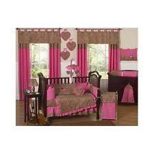 Pink Cheetah Crib Bedding Cheetah Crib Bedding Ebay