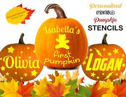 pumpkin stencils