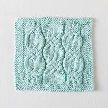 free free cable dishcloth knitting patterns patterns knitting
