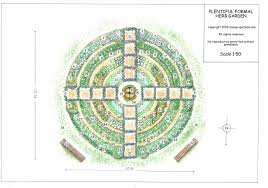 Garden Layout Designs A Functional Herb Garden Design Plan For All Seasons
