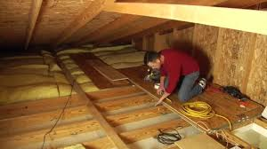 louisville ladder elite attic ladder installation youtube