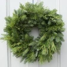 fresh wreaths mixed greens 24in wreath christmas wreath wreaths fresh wreath