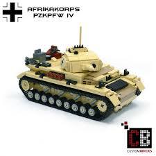 lego army tank custombricks de lego ww2 wwii afrikakorps afrika korps wehrmacht