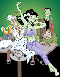 Monster Madness Halloween by Halloween Monsters Bring A Deck Of 54 Unreal Monster Pin Up Girls