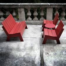Recycled Patio Furniture with Recycled Outdoor Furniture Interiors Design