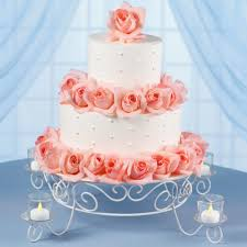 garden lights wedding cake wilton