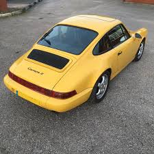 porsche 964 c2 manual coupe uk rhd ultra low miles rennlist