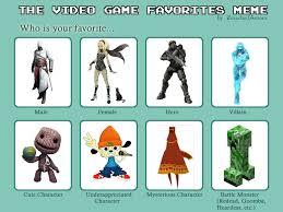 Video Game Meme - video game favorites meme by popman71 on deviantart