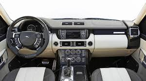 dark blue range rover land rover range rover sport 2006 2009 basic interior dash kit