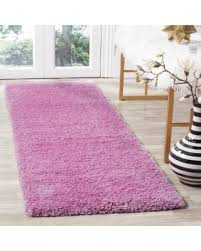Pink Runner Rug Amazing Savings On Safavieh Santa Shag Pink Runner