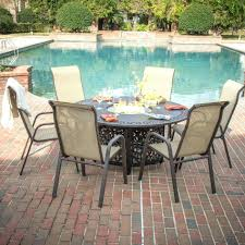 Patio Sets With Fire Pit by Patio Sets Fire Pit Table With Swivel Chairs And Black Rectangle