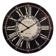 imax 16051 hotel wall clock hope home furnishings and flooring