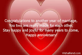 marriage congratulations message congratulations to another year of marriage anniversary card message