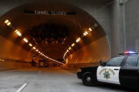 chp big rig fire in caldecott tunnel extinguished both bores