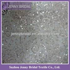 silver lace table overlay tl088a water soluble lace table cloth chagne sequin embroidery