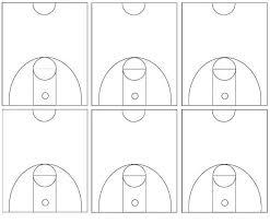 basketball court diagram diagram site