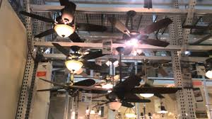ceiling fans on display at home depot in salem ma 2014 youtube