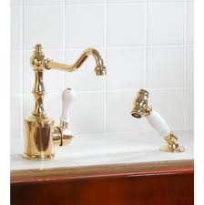 polished brass kitchen faucet sink faucet beautiful polished brass kitchen faucet hanno wall