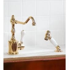 100 kitchen faucet brass shop kingston brass century chrome sink u0026 faucet polished brass kitchen faucet prominent waterstone