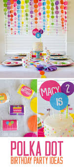 party stuff 91 best polka dot party ideas images on birthday party