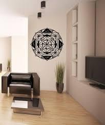 Illuminati Pyramid Eye Geometry Vinyl Wall Decal Sticker Art Decor - Design wall decal