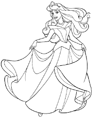 princess coloring pages kids 12559