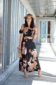 off the shoulder maxi dress my style vita