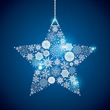 shining snowflakes ornaments design vector graphics free vector in