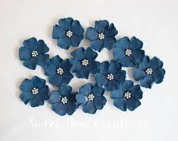 edible blue flowers navy edible flower etsy