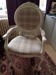 vintage french style shabby chic louis chair in victoria