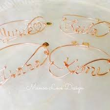 Customized Name Bracelets The 23 Best Images About Jewelry On Pinterest Green Earrings St