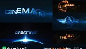 cinematic vortex logo after effects project videohive free