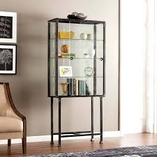curio display cabinet plans glass display cabinet blvd metal glass sliding door display cabinet