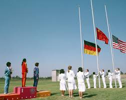 Ceremony Flag 1984 Summer Olympics Medal Table Wikipedia