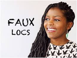 Different Hairstyles For Dreads How I Install My Own Faux Locs For A Protective Style Curlynikki